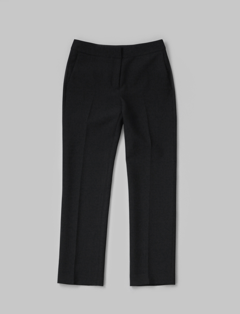 STANDARD SLACKS.black
