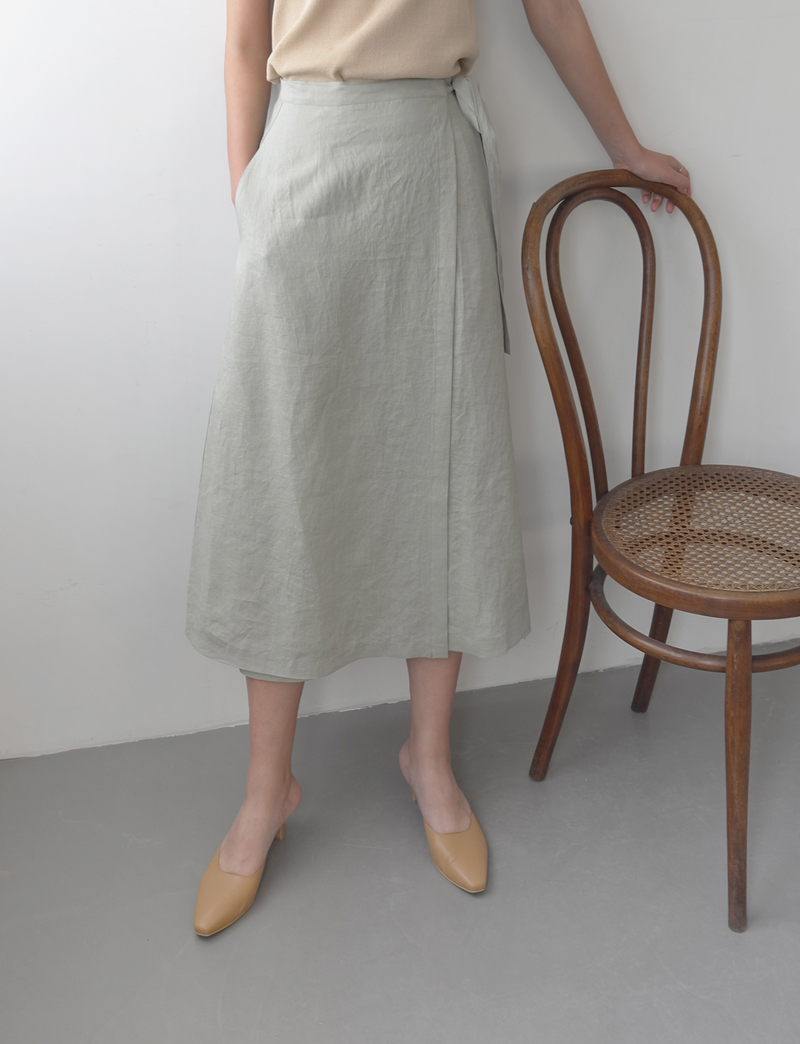 FRENCH LINEN SKIRT