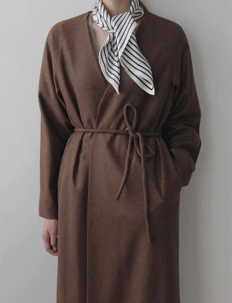 LE ROBE COAT (italy fabric)