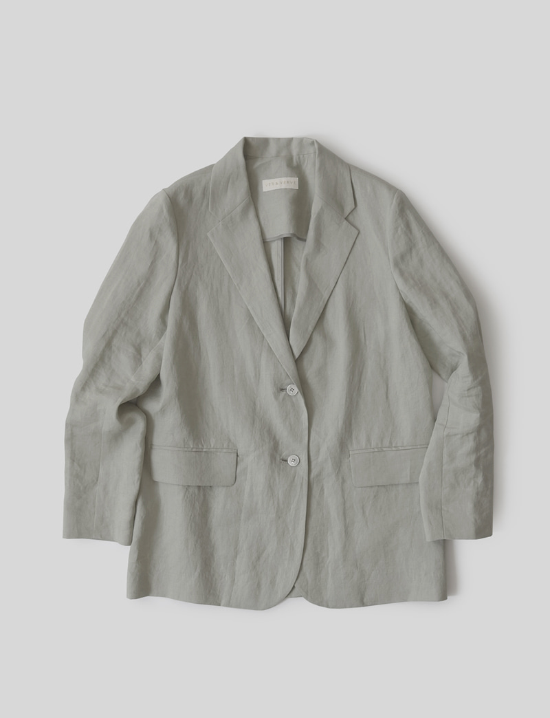 FRENCH LINEN JACKET(SHORT)