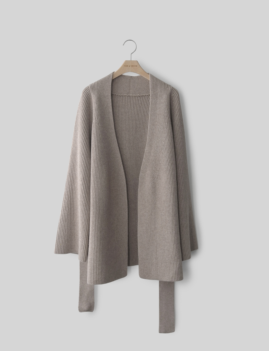 COMME CASHMERE CARDIGAN