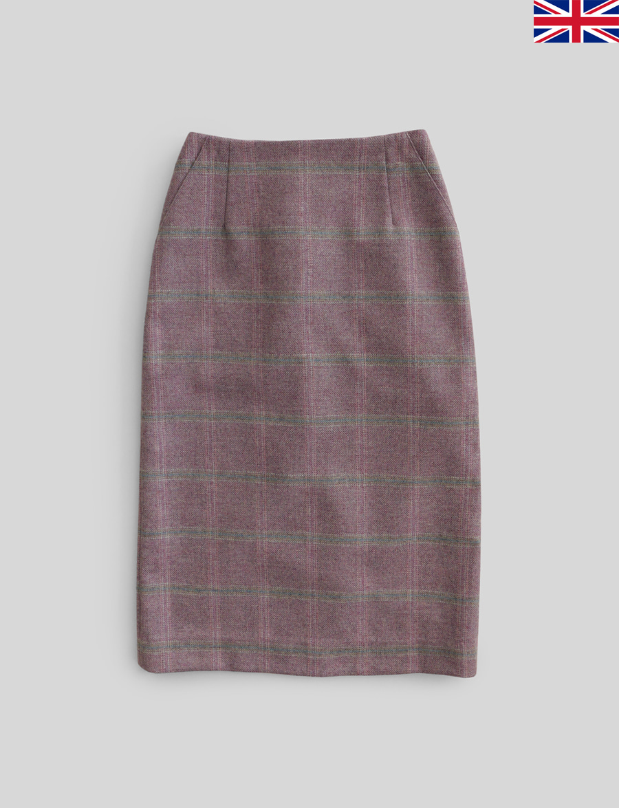 Agnés Skirt by Marton Mills Tweed (Jasmine)