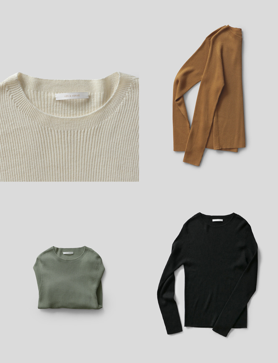 Verve Essential Knit (21일이후순차발송)